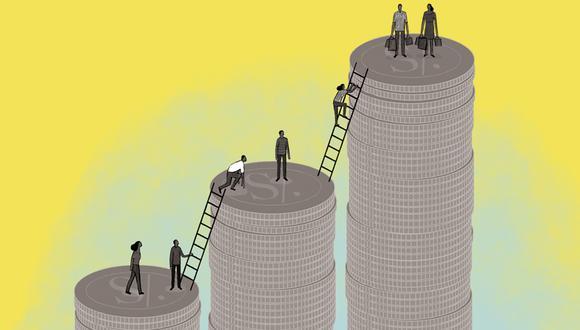 Expertos recomiendan buscar rentabilidad conservadoras si se decide retirar los fondos AFP. (Ilustración: Víctor Aguilar Rúa).