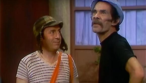 """El 'Chavo' (Roberto Gómez Bolaños) y Don Ramón (Ramón Valdés) fueron dos de los primeros personajes que aparecieron en """"El Chavo del 8"""".  (Foto: Televisa)"""