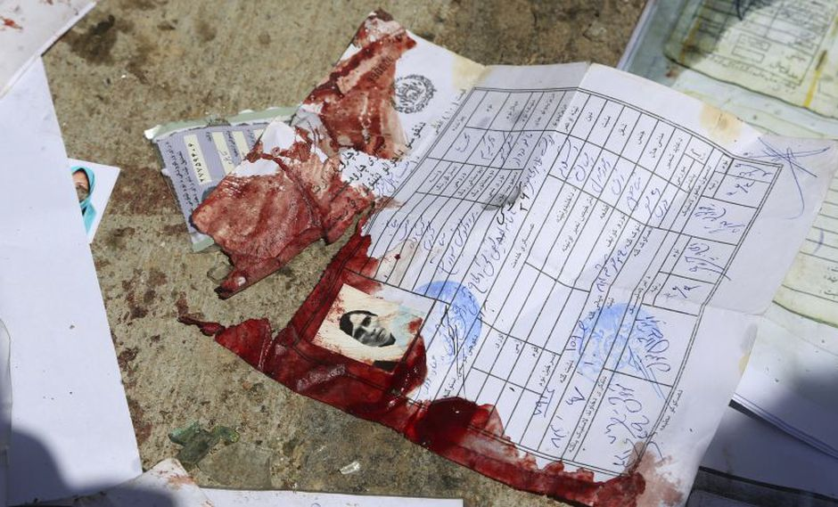 Afganistán: Ataque contra centro electoral deja 14 muertos y 33 heridos. (Foto: AP)