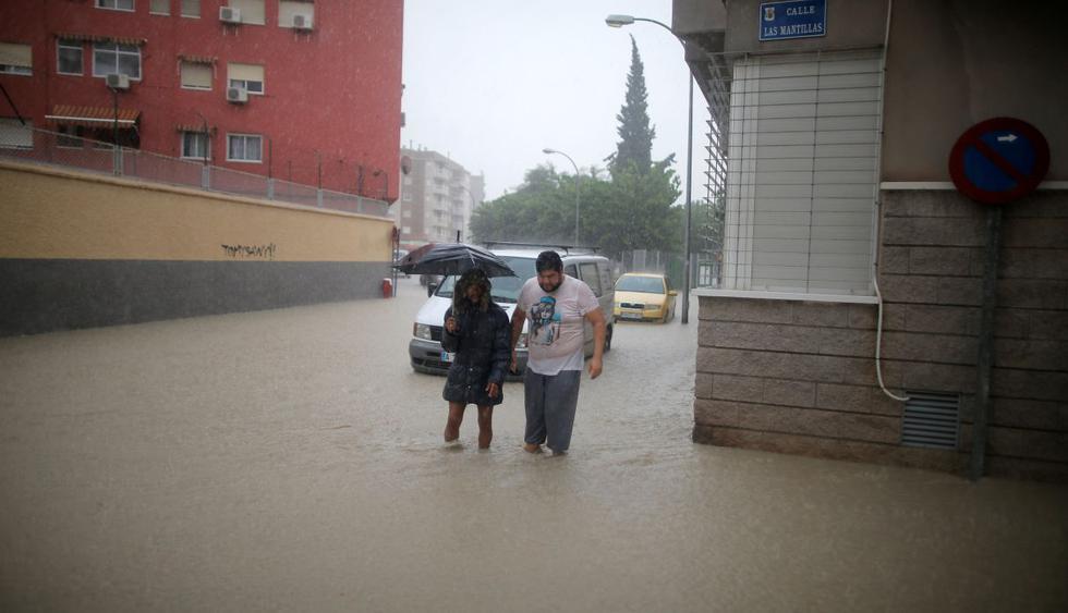 España: Lluvias torrenciales causan una tercera muerte. (Foto: Reuters)