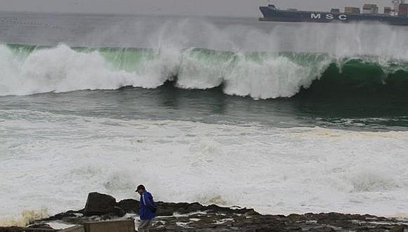 La Dirección de Hidrografía y Navegación de la Marina de Guerra del Perú dio la alerta de tsunami en litoral peruano. (Foto: GEC / Referencial)