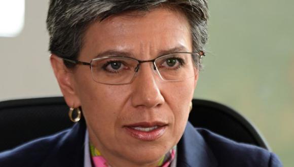Claudia López tiene un apoyo poco frecuente para alcaldes en Bogotá. Pero la clase política la critica desde izquierda y derecha. (Foto: Prensa Alcaldía, vía BBC Mundo).