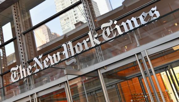 """La renunciante editora Bari Weiss denunció que en The New York Times hay una cultura laboral """"hostil"""" hacia los empleados centristas y conservadores, y una """"atmósfera intolerante"""". (Foto: ANGELA WEISS / AFP)."""