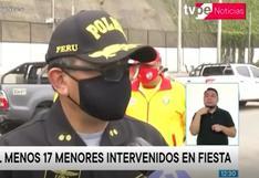 San Miguel: más de 50 personas son detenidas por incumplir medidas de seguridad   VIDEO