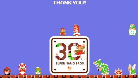 Super Mario Bros: fans celebran 30 años del juego con un video