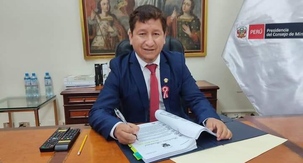 Guido Bellido, primer ministro de Castillo, compartió el viernes esta foto en su cuenta personal de Facebook. (Foto: Guido Bellido/Facebook)