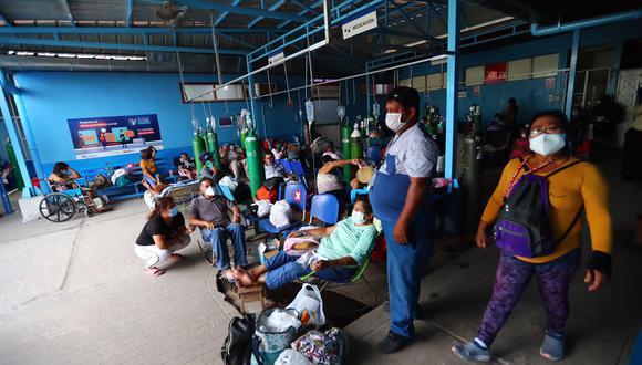 El sistema sanitario peruano se vio superado por el avance de la enfermedad. (Foto: Hugo Curotto/ El Comercio)