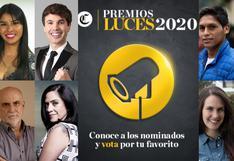Premios Luces 2020: conoce a los nominados y vota por tu favorito, quedan pocos días