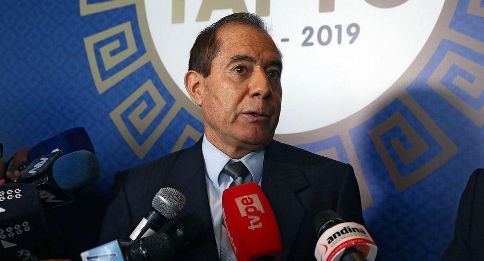El ministro de Defensa, Walter Martos, dijo que cuando César Villanueva fue primer ministro no se conocía de actos de corrupción. (Foto: Andina)