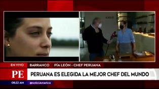 Peruana Pía León es elegida la mejor chef del mundo por The World's 50 Best Restaurants
