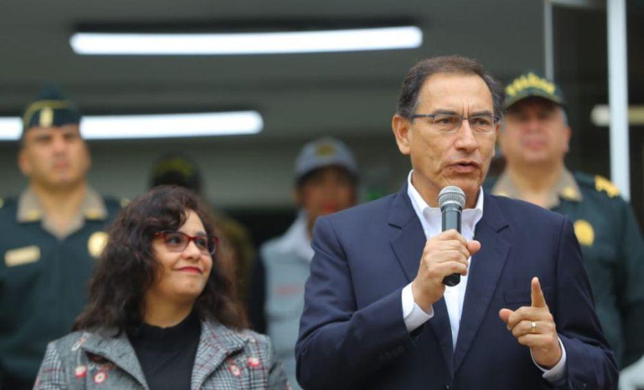 El presidente Martín Vizcarra considera urgente un referéndum sobre reforma política (Foto: Presidencia)