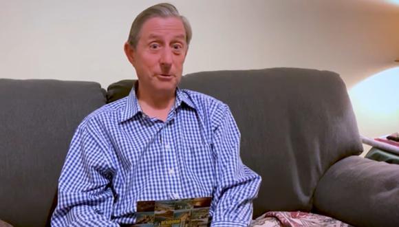 Hombre recibió una postal en su correo 28 años después de que se la envió a sus padres durante unas vacaciones   Foto: Captura de YouTube / SWNS TV