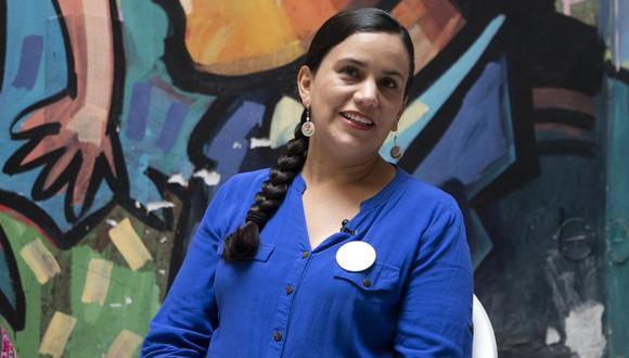 Verónika Mendoza realizó actividades de campaña en Arequipa. (Foto: GEC)