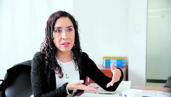 Giovanna Prialé, gerenta general de la Asociación de AFP. (Foto: GEC)