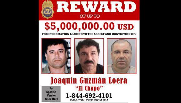 EE.UU. cree que 'El Chapo' Guzmán se esconde en Sinaloa