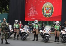 Mininter: más de 10 mil policías brindarán seguridad durante celebraciones de Navidad y Año Nuevo en Lima