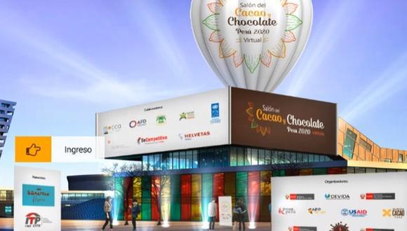 La undécima edición del Salón del Cacao y Chocolate Perú 2020 se inaugura hoy jueves 16, a las 12 m., en una transmisión vía Facebook Live de los organizadores. (Foto: Salón del Cacao y Chocolate)
