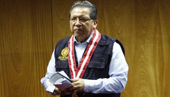 """Fiscal de la Nación sobre Nadine: """"Decisiones son técnicas"""""""