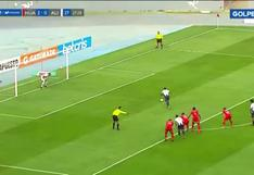 Alianza Lima vs. Sport Huancayo: Carlos Ascues erró disparo desde los doce pasos | VIDEO