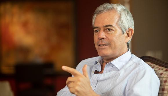 """""""El Perú debería estar peleando por atraer más recursos y por destrabar proyectos"""", resalta Castagnola. (Foto: José Rojas / GEC)"""