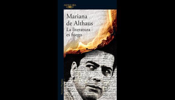 """""""La literatura es fuego"""" - Mariana de Althaus. (Foto: Difusión)"""