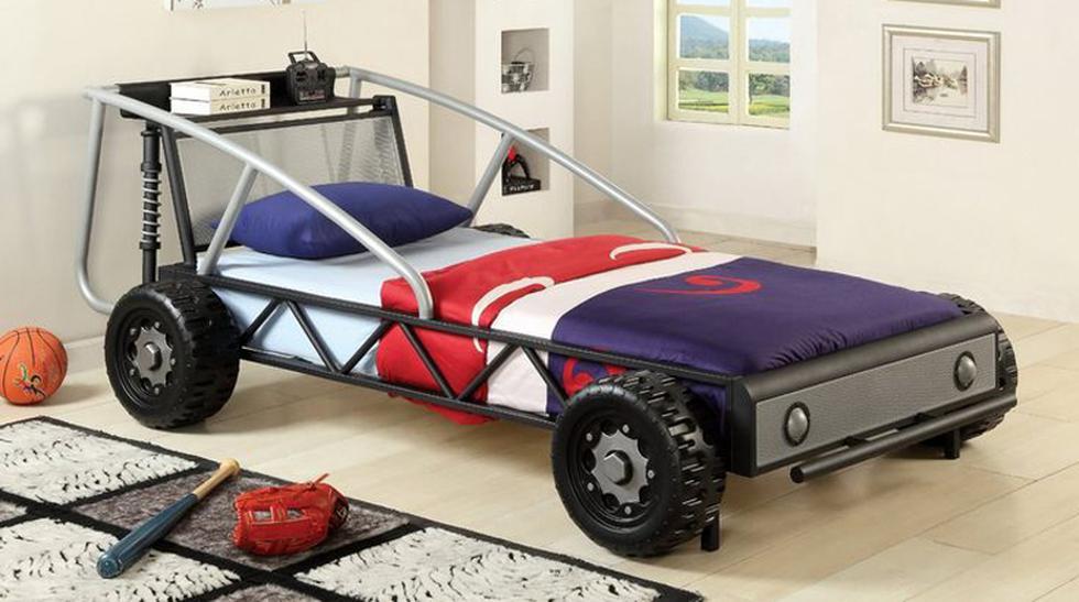 Mira estas curiosas camas de carros para el cuarto de tus hijos - 1