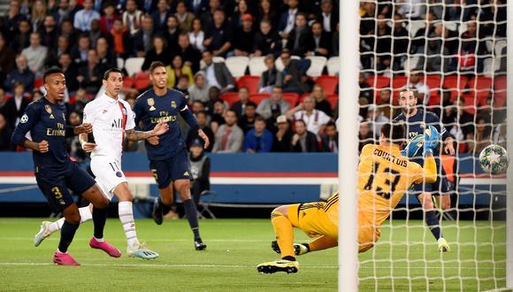 Real Madrid vs. PSG: mira el golazo de Di María para el 1-0 en el duelo de Champions League. (Foto: AFP)