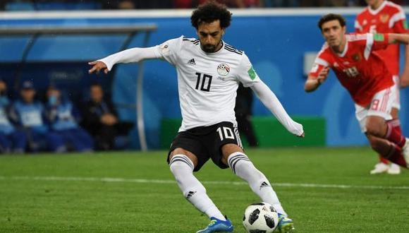La selección de Egipto se medirá ante Arabia Saudita por la última fecha del Grupo A del Mundial Rusia 2018. Ambas escuadras se encuentran sin posibilidades de avanzar a la siguiente fase. (Foto: AFP)