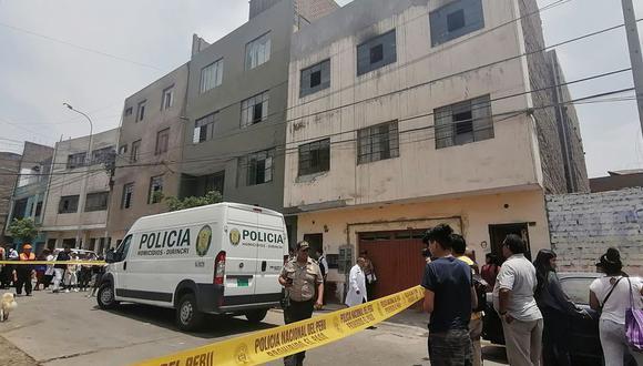 Los agentes policiales demoraron en brindar el apoyo solicitado pese a que la comisaría de San Cayetano está ubicado a solo 159 metros de donde ocurrió el cuádruple crimen. (Foto: GEC)