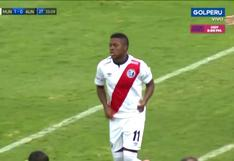 Jhonnier Montaño Jr. debutó con 16 años en el Deportivo Municipal vs. Alianza Universidad [VIDEO]