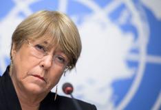 Chile: detienen a hija de Michelle Bachelet en protesta por la liberación de indígenas mapuche