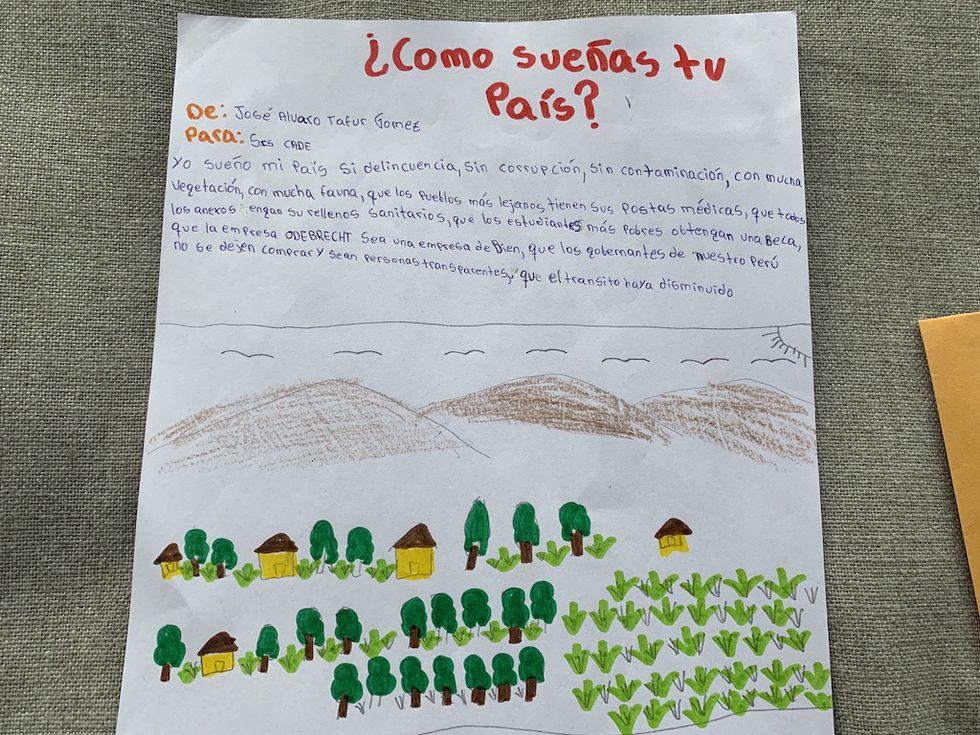 Carta de José Alvaro Tafur Gómez.