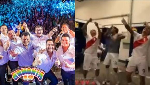 """Armonía 10 y su mensaje a la selección peruana por celebrar triunfo con su tema """"El cervecero"""". (Foto: Facebook)"""