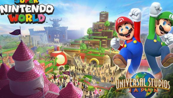 Super Nintendo World abrirá sus puertas en Japón entre marzo y mayo próximo. (Difusión)