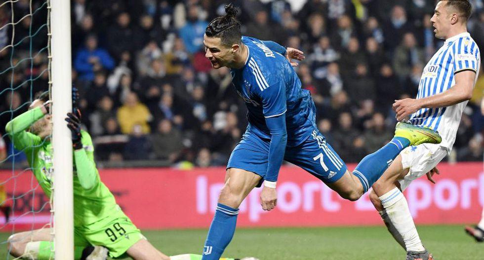 Estas fueron las mejores postales del duelo entre Juventus y SPAL por la Serie A. AFP / Isabella BONOTTO