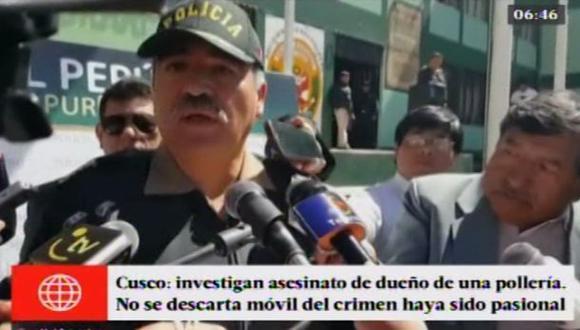 Cusco: dictan prisión preventiva a asesino de empresario