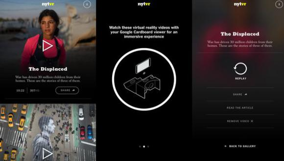 The New York Times se lanza a la realidad virtual