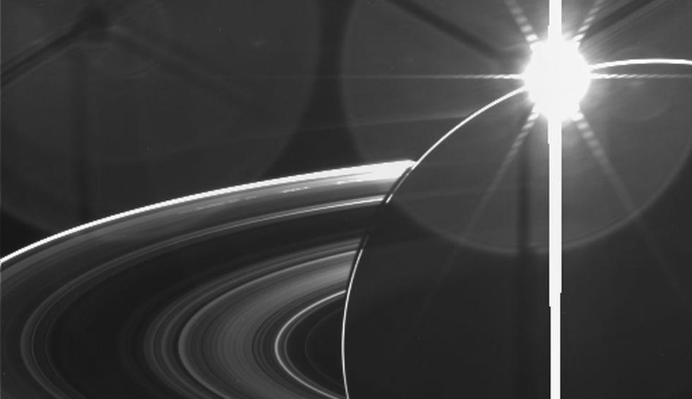 Mira la belleza de Saturno capturada por Cassini-Huygens - 1