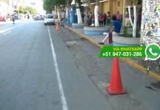 Chiclayo: avenida principal es usada como parqueo privado