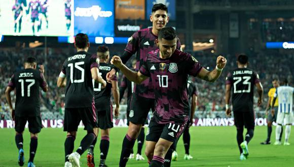 México clasificó a la semifinal de la Copa Oro