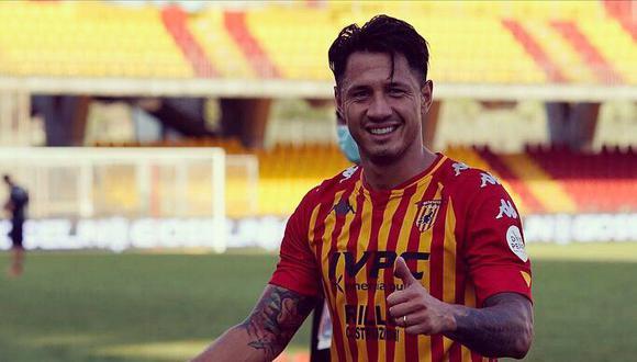 Lapadula tiene contrato con Benevento Calcio hasta junio del 2023. (Foto: Twitter)