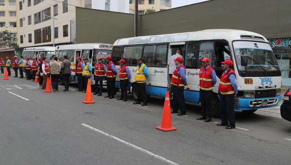 La ATU indicó que se implementarán censores GPS en las unidades de transporte urbano. (Foto: ATU)