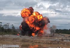 Madre de Dios: policía intervino a 8 personas en operación contra la minería ilegal