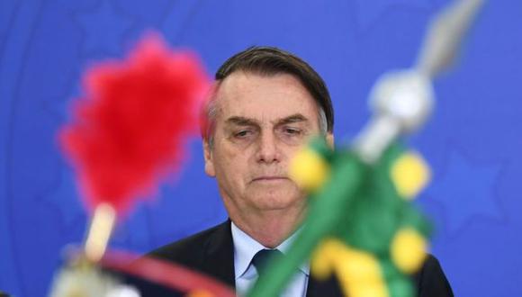 """Jair Bolsonaro: """"No podemos dejar que Brasil sea conocido como un paraíso para el turismo gay"""". Foto: Getty images, vía BBC Mundo"""