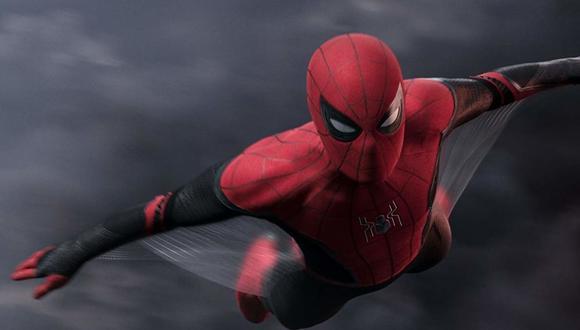 """En """"Spiderman: Far From Home"""", Peter Parker (Tom Holland) viaja por el mundo para enfrentar a sus villanos. Foto: Sony Pictures."""