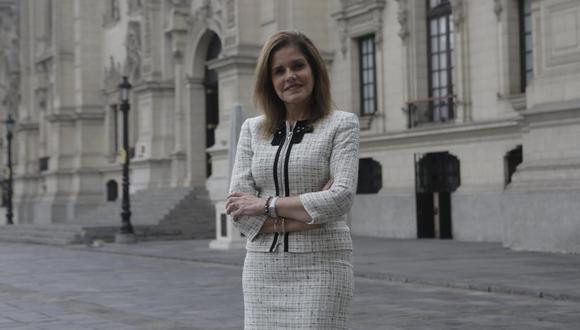 Mercedes Aráoz renunció a la vicepresidencia y rompió todo vínculo con Palacio. (Foto: Piko Tamashiro/GEC)