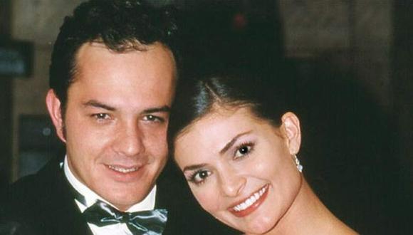 La actriz colombiana tenía en la vida real una relación amorosa con Julián Arango, quien hacía del diseñador Hugo Lombardi (Foto: Twitter)