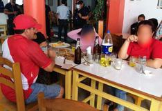 Áncash: PNP sorprende a decenas de comensales en cevicherías clandestinas durante cuarentena