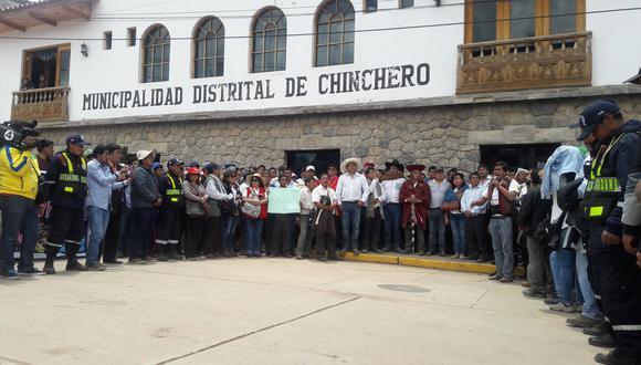 Aeropuerto de Chinchero: anuncian paro indefinido en Cusco
