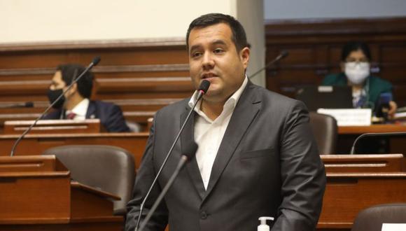"""""""Descartamos cualquier censura a la Mesa Directiva en este momento, no se está evaluando"""", indicó Franco Salinas, vocero de Acción Popular, a El Comercio. (Foto: Congreso de la República)"""